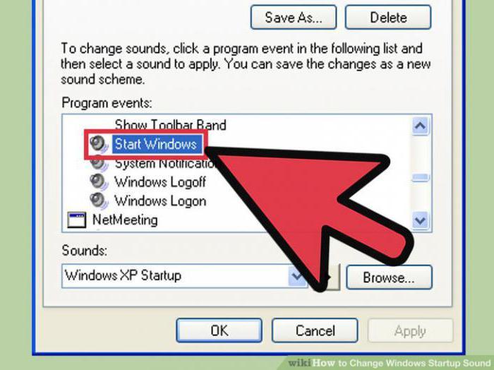 Звуковое приветствие привет пока для windows 7