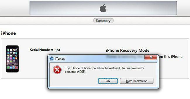 iphone yazılım güncelleme hata 3259